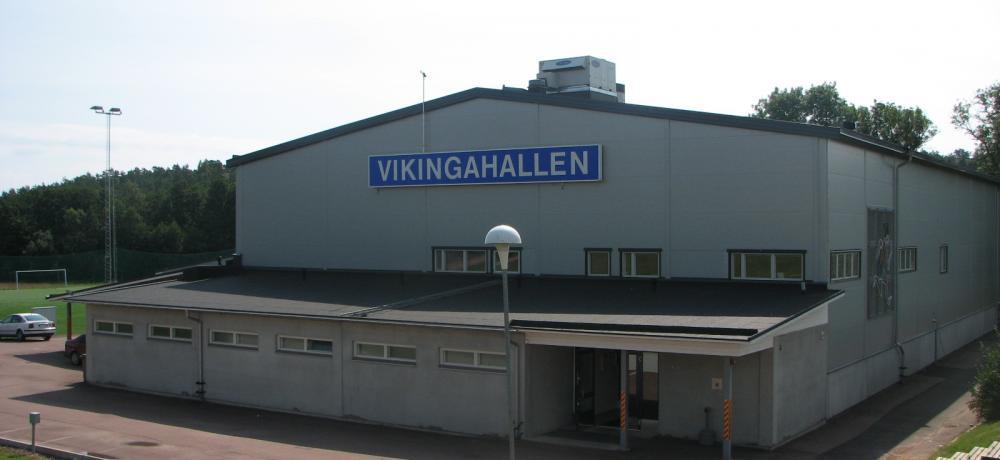 Bild på Vikingahallen